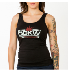 CROWNED WOMENS TANKT TOP