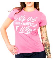 SCRIPT WOMENS TEE - PINK