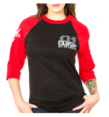 OGKW JERSEY WOMEN  - BLACK/RED